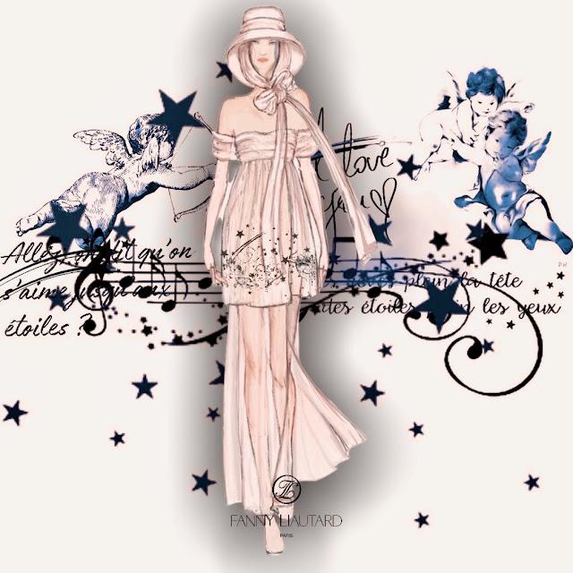 Fanny Liautard créatrice de robes de mariée sur mesure,Paris, Aix en Provence