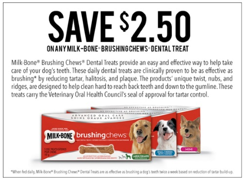 Save.ca Milk-Bone Brushing Chews Coupon