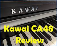 Kawai CA48 piano review - piano