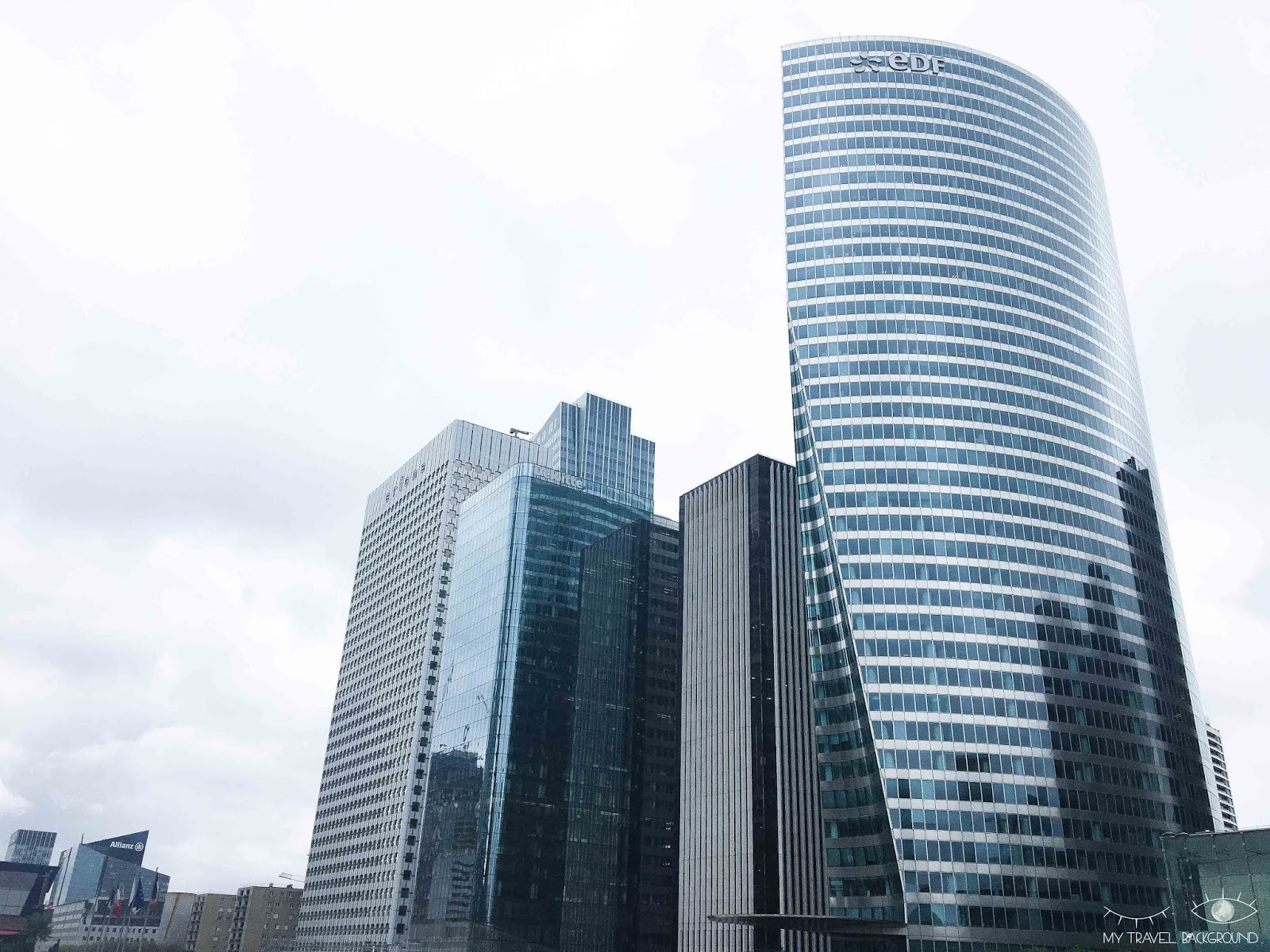 My Travel Background : Paris Promenade La Défense - Tour EDF