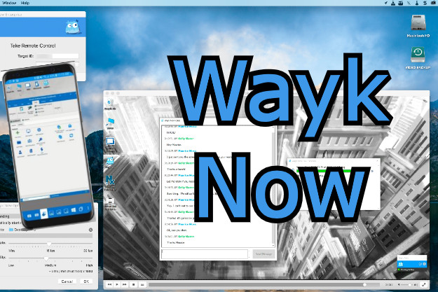 wayk now remote desktop control software free pc and smartphones