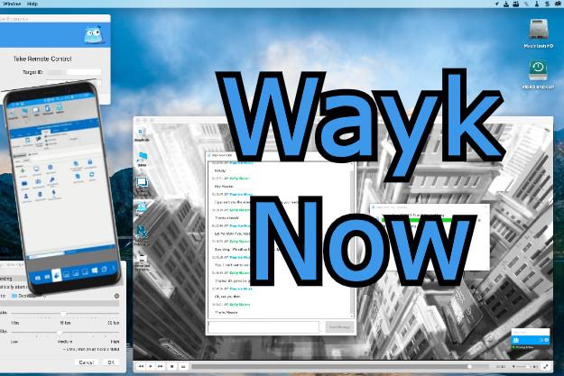 Wayk Now - Ένα δωρεάν πρόγραμμα για απομακρυσμένο έλεγχο υπολογιστών