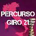 Guia Giro d'Italia 2021 - Percurso