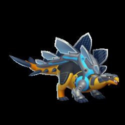 Solar-Powered Dragon