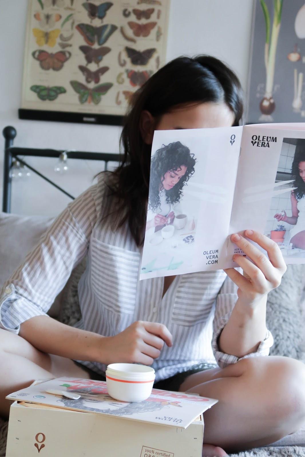 Oleum Vera: DIY Organic Face Cleansing