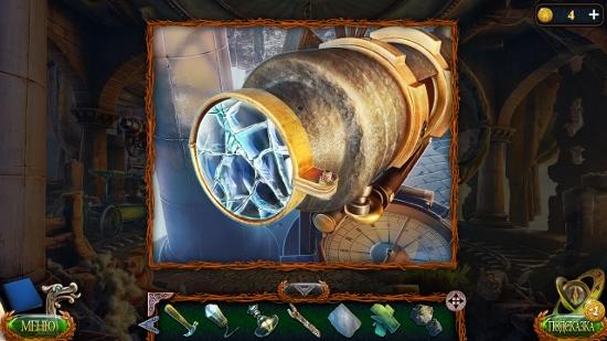 снимаем линзы гаечным ключом в игре затерянные земли 4 скиталец
