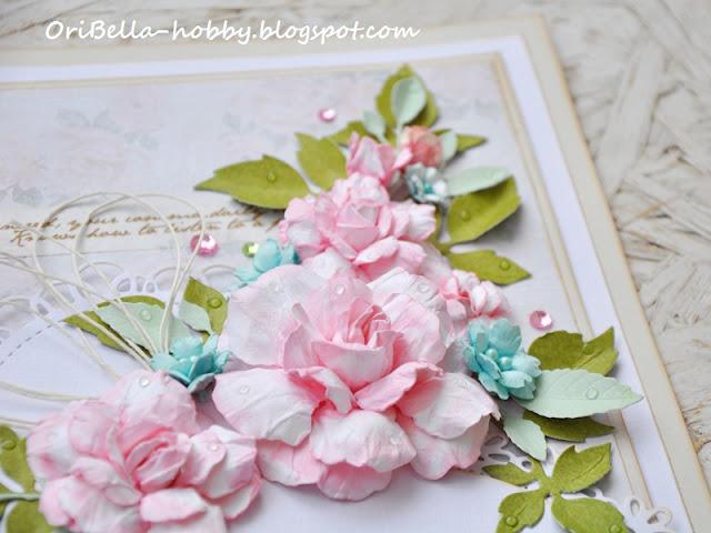 kwiaty z papieru ręcznie robione