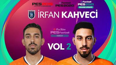 PES 2021 Faces İrfan Kahveci by PES Football Turkey