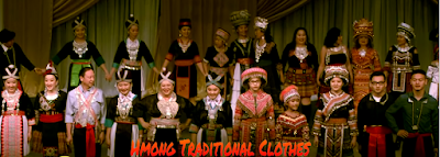 Vietnamese Hmong Tribe Traditional Clothes