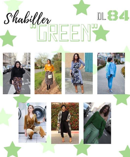 s'habiller green, vintage ou seconde main, les petites bulles de ma vie, défis looks