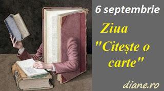6 septembrie: Ziua Citește o carte
