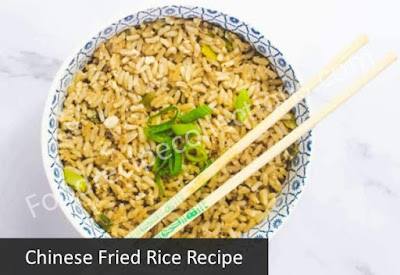 Chinese fried rice recipe with egg