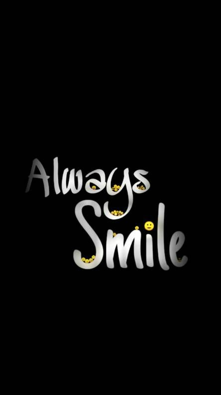 always-smile-black-bg-getpics