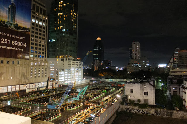 bangkok-underconstruction バンコク ビルの建設現場