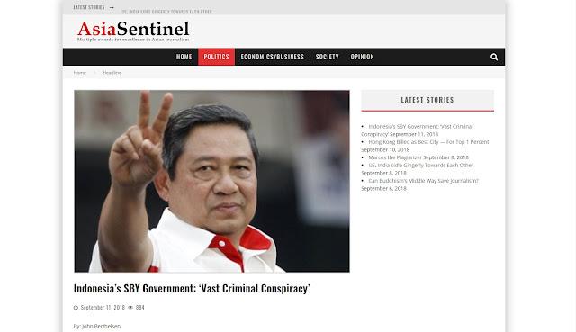 Soal Asian Sentinel, Syarief Hasan: Berita Sampah!