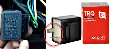 Jenis-Jenis Flasher Motor dan Cara Mendeteksi Kerusakannya