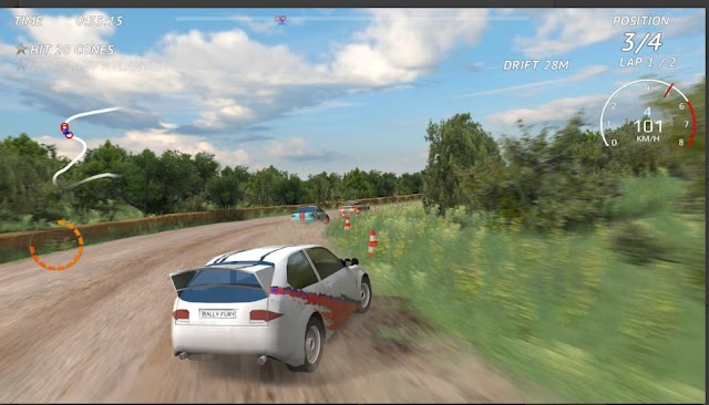 Game Balap Mobil Android Offline Rally Fury Mod Apk