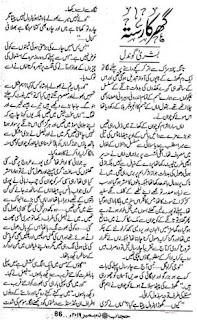 Gher Ka Raasta (Complete Novel) By Bushra Gondal Free Download Pdf
