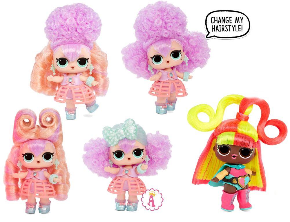 Создание причесок новым куклам Лол Сюрприз #hairvibes
