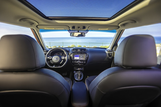 Interior view of 2017 Kia Soul !