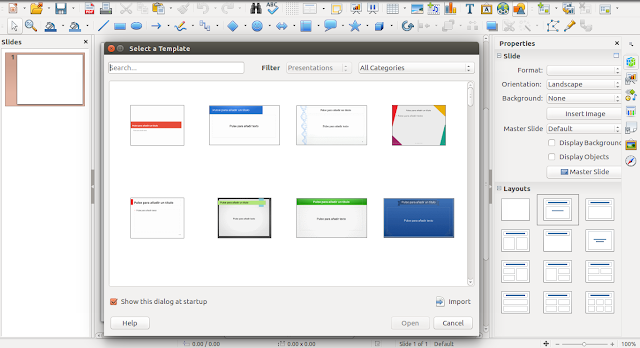 install or update to libreoffice 5.3 in ubuntu 16.04 14.04 lts, Presentation templates