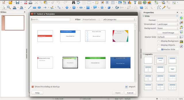 LibreOffice Presentation 5.3