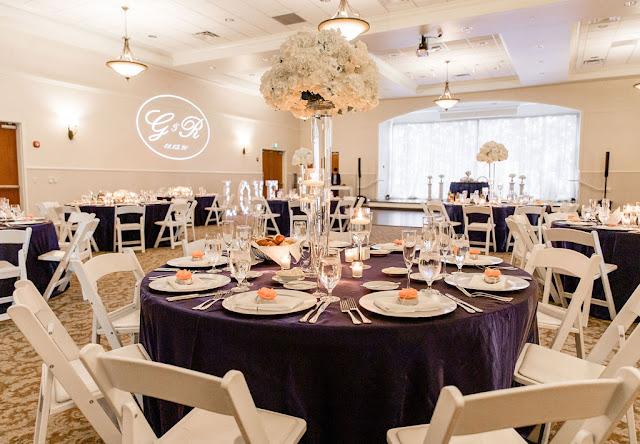 reception ballroom at lake mary events center