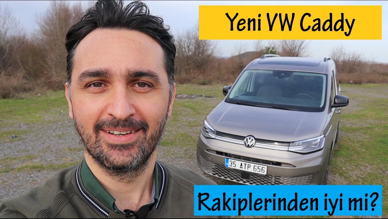 Yeni VW Caddy Test Sürüşü