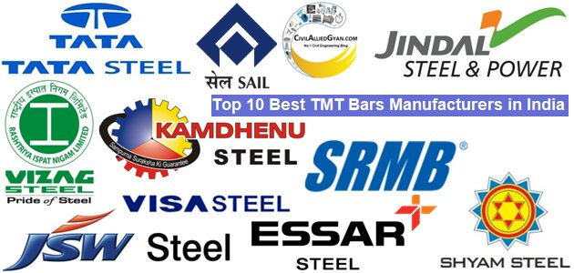 Top 10 TMT Bars Manufacturers in India for House Construction in 2021