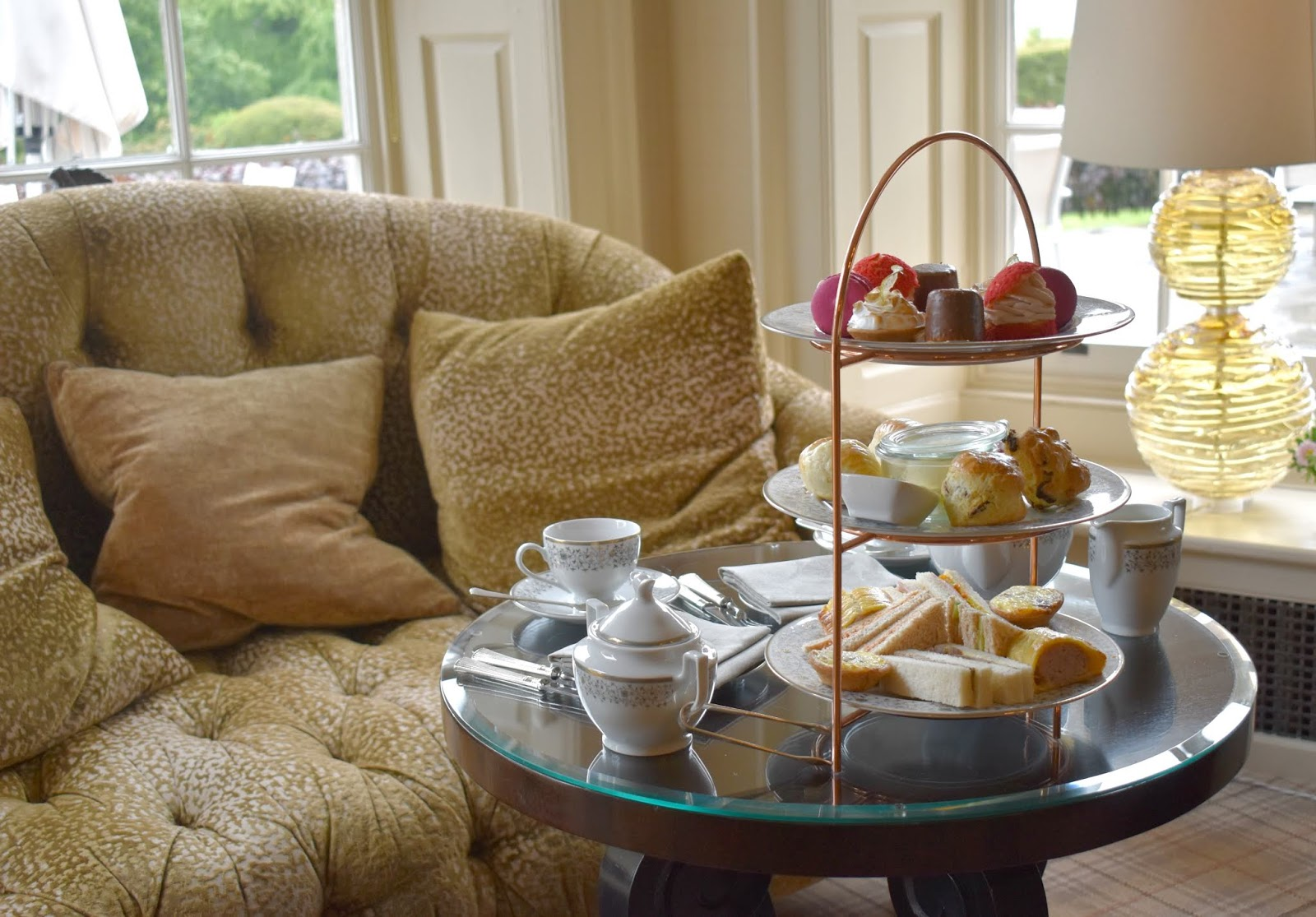 Afternoon Tea in Northumberland at Walwick Hall Hotel