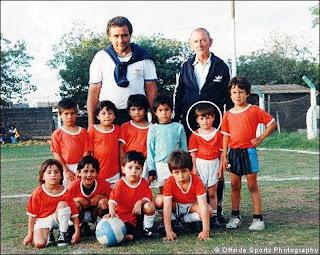 Foto Lionel Messi Waktu Kecil - Lingkar Merah Com