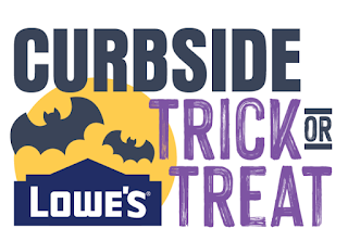 Lowe's is offering free curbside trick-or-treating for Halloween