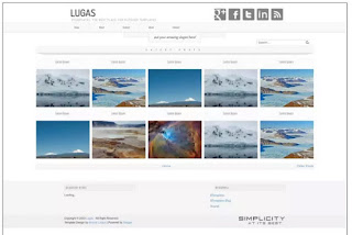 Free Image Gallery Blogger Template