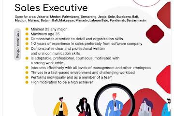 Lowongan Kerja Sales Executive Accurate Bandung