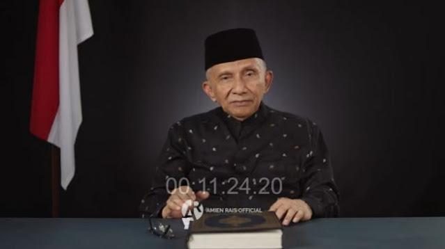 Amien Rais Ajak Rakyat Ucapkan Innalillahi Jika Jokowi Jadi Presiden Lagi