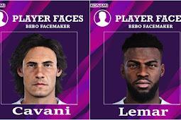 Cavani & Thomas Lemar Face - PES 2020
