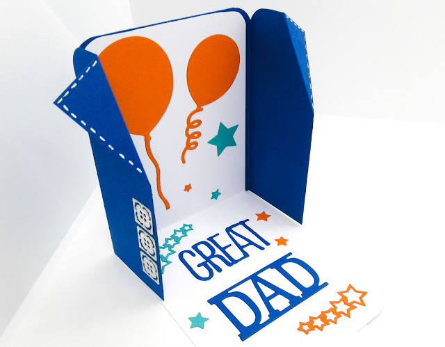 Fathers Day Card tutorial
