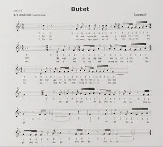 lagu butet dan liriknya