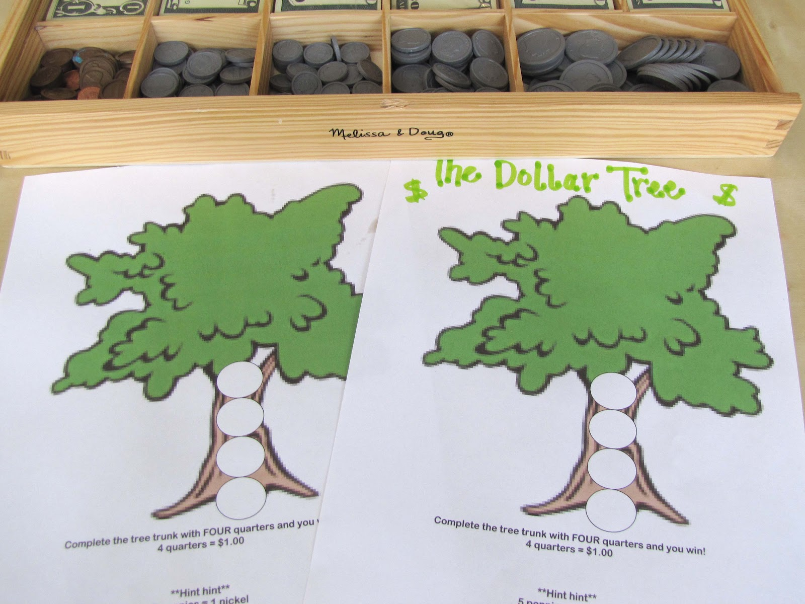 Money Tree Math Game