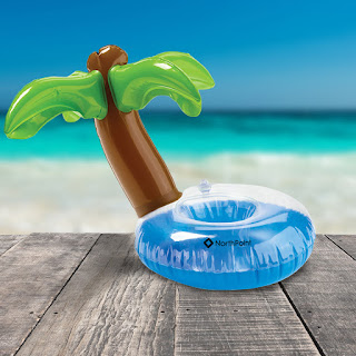 Palm Tree Inflatable Beverage Coaster