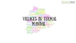 Yeldurthy Mandal with villages