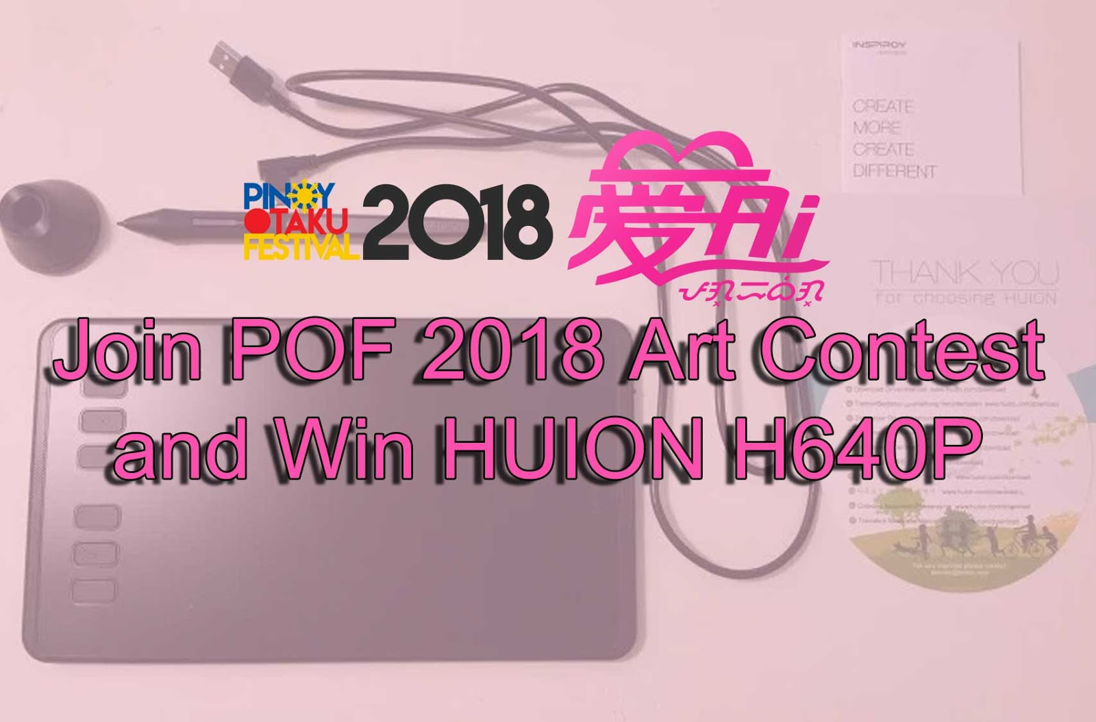 Win A Brand New Drawing Tablet From Huion Techreview Ph