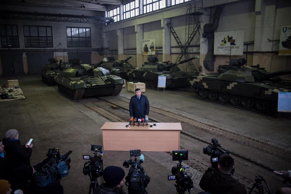 Київський бронетанковий завод передав ЗСУ п'ять Т-72