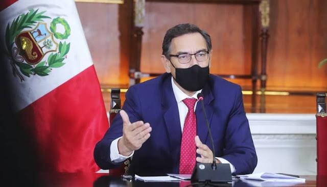 Martín Vizcarra en conferencia Prosur