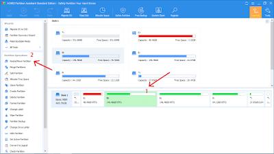 Cara Menambah Kapasitas Drive C di Windows 10,8,7