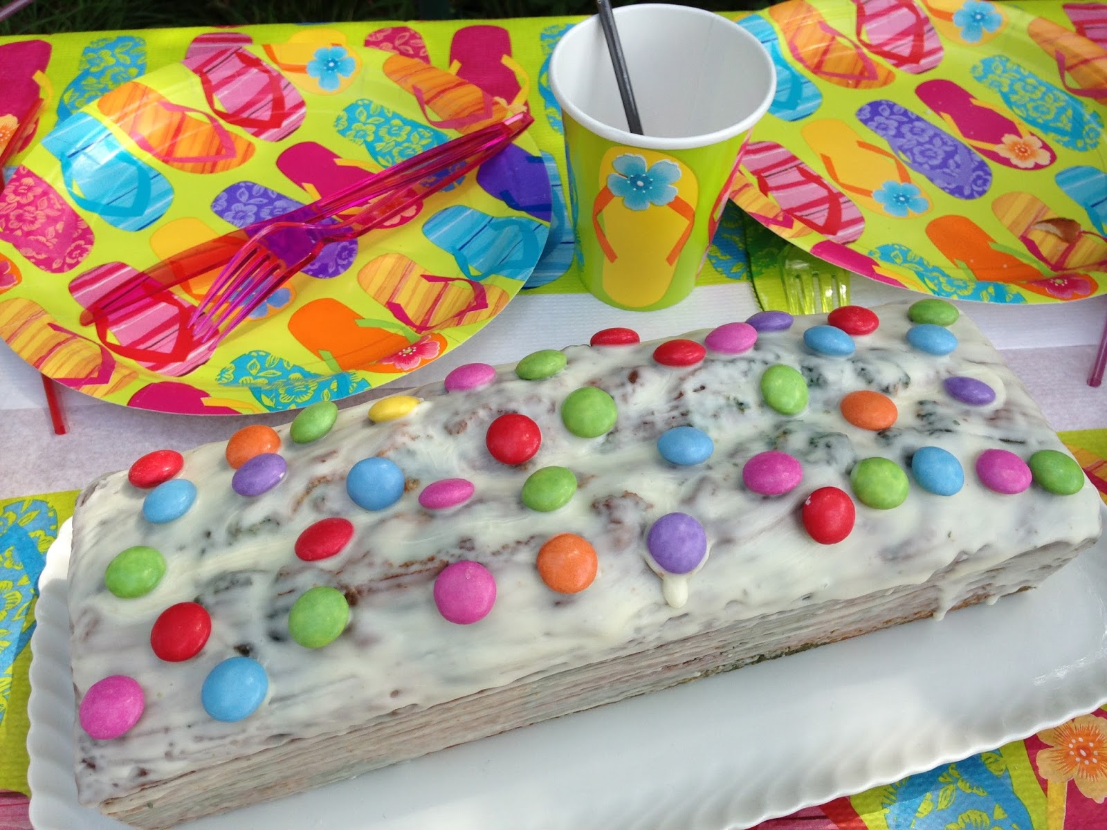 Papagei Kuchen Oder Regenbogenkuchen Egal Wie Er Heisst Bunt Muss