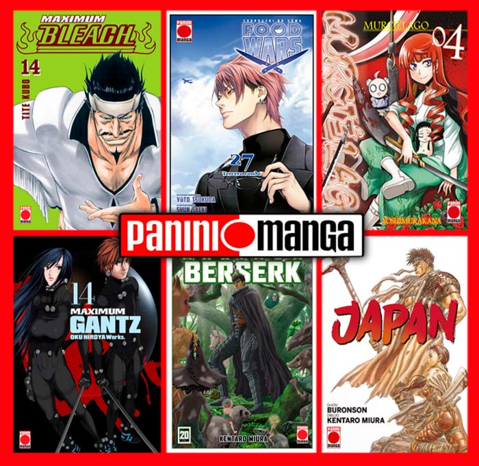 Novedades Panini Manga noviembre 2020