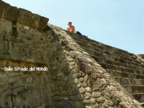 Simonetta Clucher a Teotihuacan