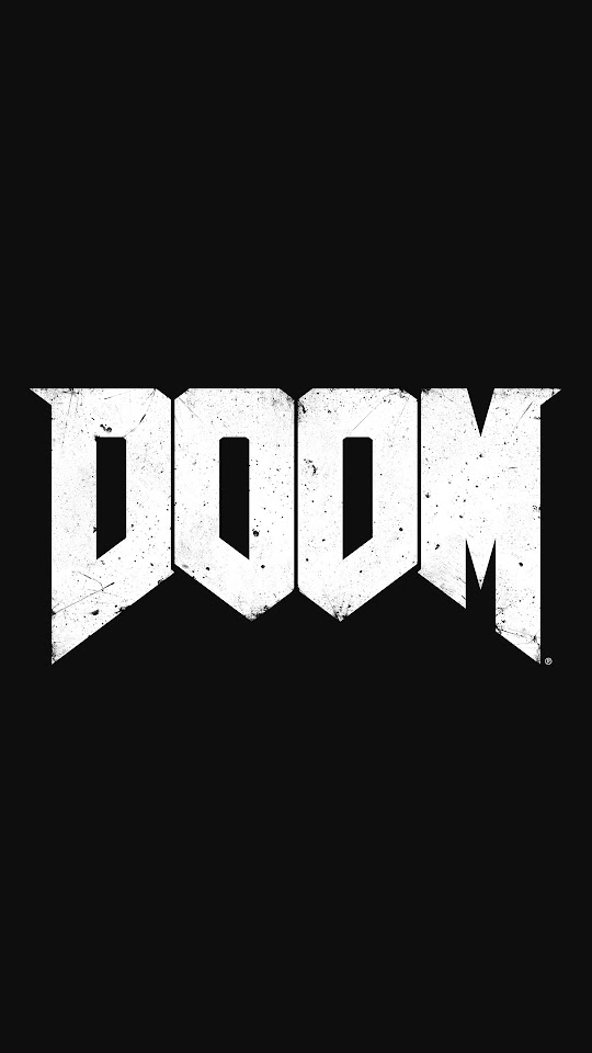 DOOM Game Logo  Galaxy Note HD Wallpaper