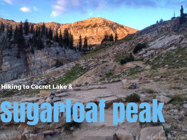 The Best 8 Trails in Salt Lake City For Visitors, Cecret Lake and Sugarloaf Peak